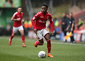24th March 2018, The Valley, London, England;  English Football League One, Charlton Athletic versus Plymouth Argyle; Tariqe Fosu of Charlton Athletic in action