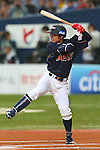 Takashi Toritani (JPN), .February 26, 2013 - WBC : .2013 World Baseball Classic, Exhibithion Game .match between Japan 0-1 Hanshin Tigers  .at Kyocera Dome, Osaka, Japan..(Photo by AJPS/AFLO SPORT)