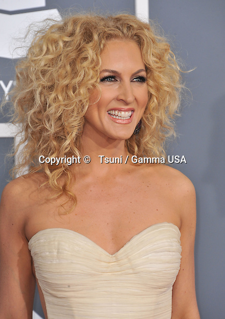 Little Big Town , Kimberly _567 at  the 55th Ann. Grammy Awards 2013 at the Staples Center in Los Angeles.