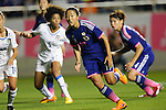 Yuki Ogimi (JPN), <br /> MAY 28, 2015 - Football / Soccer : Kirin Challenge Cup 2015 match between Womens Japan and Womens Italy at Minami Nagano Sports Park, Nagano, Japan. <br /> (Photo by AFLO) [2268]