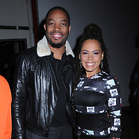 13 May 2019 - New York, New York - Patrick Oyeku and Amirah Vann at the Entertainment Weekly & People New York Upfronts Celebration at Union Park in Flat Iron. Photo Credit: LJ Fotos/AdMedia