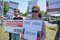 2016/06/07 Berlin | Reporter ohne Grenzen | Aserbaidschan-Kundgebung