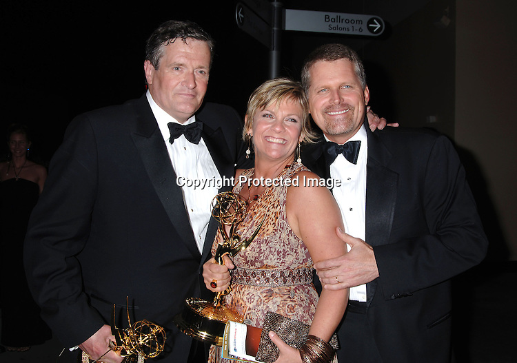 Jordan Clarke, Kim Zimmer and Robert Newman ..in the Press Room  at the 33rd Annual Daytime Emmy Awards on April 28, 2006 at The Kodak Theatre in Hollywood, Californina. ..Robin Platzer, Twin Images