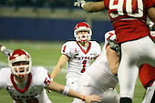 January 5th, 2008:  Rutgers place kicker Jeremy Ito (1) watches his extra point attempt during the third quarter of the International Bowl at the Rogers Centre in Toronto, Ontario Canada...Rutgers defeated Ball State 52-30.  ..Photo By:  Mike Janes Photography