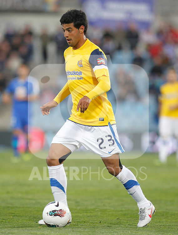Real Sociedad's Carlos Vela during La Liga match.March 17,2012. (ALTERPHOTOS/Acero)