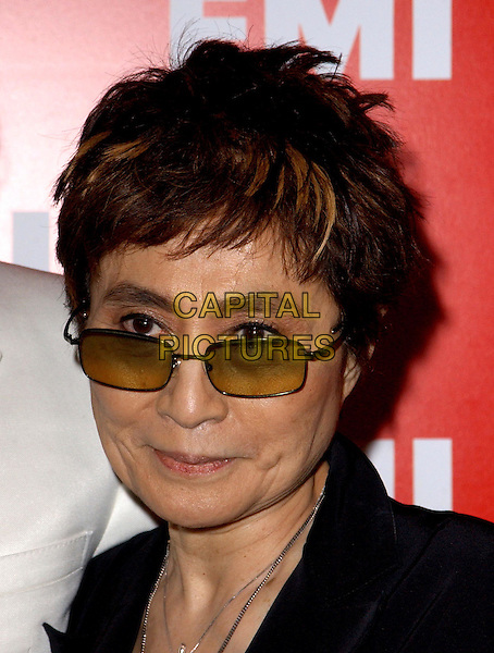 YOKO ONO.EMI Post Grammy Party held at The Los Angeles County Museum of Art in Los Angeles, California .8 February 2004                                                                      *UK Sales Only*.headshot, portrait, sunglasses, shades.www.capitalpictures.com.sales@capitalpictures.com.©Capital Pictures.