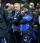 Ally McCoist and Kenny McDowall after Alloa score the winning goal