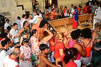 RIO DE JANEIRO, RJ, 20.01.2014 - DIA DE SÃO SEBASTIÃO / PADROEIRO / RJ- Fiéis e devotos lotam a igreja dos Capuchinhos, no dia de São Sebastião, padroeiro da cidade do Rio de Janeiro, na manhã desta segunda-feira (20), na Tijuca, zona norte da cidade do Rio de Janeiro, na  desta . (Foto: Marcelo Fonseca / Brazil Photo Press).