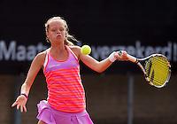 Netherlands, Rotterdam August 08, 2015, Tennis,  National Junior Championships, NJK, TV Victoria, Margriet Timmermans<br /> Photo: Tennisimages/Henk Koster