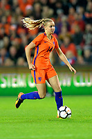 GRONINGEN -  Voetbal, Nederland - Noorwegen, Noordlease stadion, WK kwalificatie vrouwen, 24-10-2017,   Nederland speelster Jackie Groenen