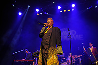 LONDON, ENGLAND - JANUARY 12: Angelo Moore performing at 'Celebrating David Bowie' at Shepherd's Bush Empire on January 12, 2018 in London, England.<br /> CAP/MAR<br /> &copy;MAR/Capital Pictures