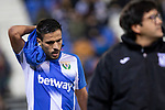 CD Leganes's  Marc Navarro injured during La Liga match 2019/2020 round 16<br /> December 8, 2019. <br /> (ALTERPHOTOS/David Jar)