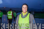Mandy Hudson, first time in the Kerry's Eye Tralee International Marathon, out training on Tuesday night