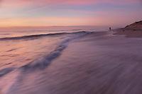 Newcomb Hollow sunrise beach, Wellfleet, Cape Cod, MA