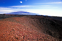 Mauna Loa (long mountain) the Warth's largest volcano on the Big Island of Hawaii