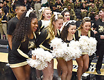 Navy defeats Army 55-46 in a Patriot League game on February 10, 2018 at Christl Arena in West Point, New York.  (Bob Mayberger/Eclipse Sportswire)