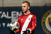 Chester, PA - Friday December 08, 2017: Andrew Gutman The Indiana Hoosiers defeated the North Carolina Tar Heels 1-0 during an NCAA Men's College Cup semifinal soccer match at Talen Energy Stadium.