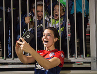 Boyds, MD - April 16, 2016: Washington Spirit forward Cali Farquharson (17). The Washington Spirit defeated the Boston Breakers 1-0 during their National Women's Soccer League (NWSL) match at the Maryland SoccerPlex.