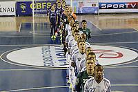 BELO HORIZONTE, MG, 20.04.2015/ LIGAFUTSAL/ Minas X Blumenau/ZEE RUCCI/SCF em partida valida pela terceira rodada,  da Liga Nacional de Futsal 2015, em Belo Horizonte nesta segunda-feira, 20, na Arena Minas Tenis Clube. (Foto: Doug Patricio / Brazil Photo Press).