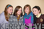 Enjoying the Clounmacon fashion Show at the Listowel Arms Hotel on Monday night were Asling Grimes, Rachel Keane, Chloe Sheehy and Niamh Horan all from Listowel...   Copyright Kerry's Eye 2008