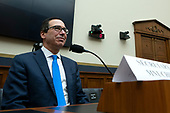 United States Secretary of the Treasury Steven T. Mnuchin arrives to testify before the United States House Committee on Financial Services at the United States Capitol in Washington D.C., U.S., on Thursday, December 5, 2019. <br /> <br /> Photographer: Stefani Reynolds/CNP