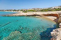 Diana beach of Koufonissi island in Cyclades, Greece