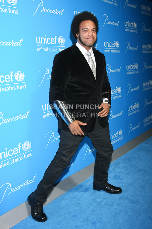 Musician ELEW arrives at the UNICEF Snowflake Ball, Presented by Baccarat, at Cipriani 42nd Street, November 30, 2010.