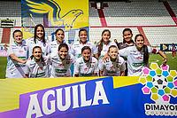 MANIZALES - COLOMBIA, 20-07-2019: Once Caldas y Deportivo Independiente Medellín en partido por la fecha 2 de la Liga Femenina Águila 2019 jugado en el estadio Palogrande de la ciudad de Manizales. / Once Caldas and Deportivo Independiente Medellin in match for the date 2 as part of Aguila Women League 2019 played at Palogrande stadium in Manizales. Photos: VizzorImage / Andres Valencia / Cont /