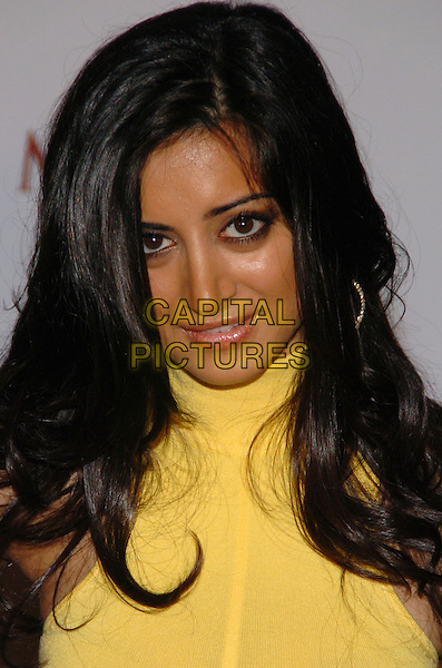 NOUREEN DeWOLF.Maxim Magazine's 8th Annual Hot 100 Party at Gansevoort Hotel, New York City, New York, USA..May 16th, 2007.headshot portrait yellow .CAP/ADM/BL.©Bill Lyons/AdMedia/Capital Pictures *** Local Caption ***