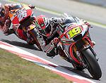 12.06.2015 Montmelo. GP Monster Energy de Cataluña. Entrenos libres nr2. En la foto ALvaro Bautista Aprilia Racing