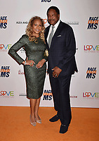 BEVERLY HILLS, CA - MAY 10: Tonya Turner (L) and Dave Winfield attend the 26th Annual Race to Erase MS Gala at The Beverly Hilton Hotel on May 10, 2019 in Beverly Hills, California.<br /> CAP/ROT<br /> &copy;ROT/Capital Pictures