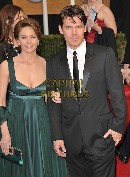 DIANE LANE & JOSH BROLIN.Attends The 14th Annual Screen Actors Guild Awards held at The Shrine Auditorium in Los Angeles, California USA, January 27th 2008..half length green dress.CAP/DVS.©Debbie VanStory/Capital Pictures