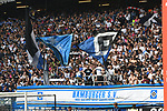 19.05.2019,  GER; 2. FBL, Hamburger SV vs MSV Duisburg ,DFL REGULATIONS PROHIBIT ANY USE OF PHOTOGRAPHS AS IMAGE SEQUENCES AND/OR QUASI-VIDEO, im Bild Feature die Fans des HSV unterstuetzen ihren Verein Foto © nordphoto / Witke *** Local Caption ***