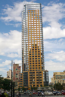 The Oro luxury condominium in Downtown Brooklyn in New York is seen on Saturday, September 10, 2011. The condo is one of a number of high rise condos and rentals built in Downtown Brooklyn that are changing the demographics of the neighborhood. (© Frances M. Roberts)