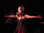 "Christina Bianco performs her show ""More Diva Moments: Songs That Made Divas Out Of The Women Who Sang Them!"" at Birdland in New York City on 1/28/2013"