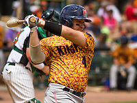 GREEN BAY - June 2015: Kenosha Kingfish catcher Jason Scholl (48) during a Northwoods League game against the Green Bay Bullfrogs on June 21st, 2015 at Joannes Park in Green Bay, Wisconsin. Green Bay defeated Kenosha 10-7. (Brad Krause/Krause Sports Photography)