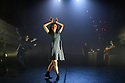 """London, UK. 27.02.20. Mark Bruce Company presents """"Return to Heaven"""", at Wilton's Music Hall. Written and choreographed by Mark Bruce, with costume design by Dorothee Brodruck, lighting design by Guy Hoare, and set design by Phil Eddolls. The dancers are: Jordi Calpe-Serrats, Eleanor Duval, Carina Howard, Dane Hurst, Sharol Mackenzie, Christopher Thomas. Picture shows: Christopher Thomas, Sharol Mackenzie, Dane Hurst, Jordi Calpe-Serrats, Eleanor Duval. Photograph © Jane Hobson."""