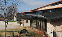 The Warner Park Community & Recreation Center is located at the north shore of Lake Mendota