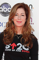 LOS ANGELES, CA - SEPTEMBER 07: Dana Delany at the Stand Up To Cancer benefit at The Shrine Auditorium on September 7, 2012 in Los Angeles, California. Credit: mpi27/MediaPunch Inc. /NortePhoto.com<br /> <br /> **CREDITO*OBLIGATORIO** *No*Venta*A*Terceros*<br /> *No*Sale*So*third*...