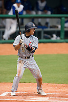 19 August 2007: Center Field #9 Ryuichi Kajimae is seen at bat during the Japan 4-3 victory over France in the Good Luck Beijing International baseball tournament (olympic test event) at the Wukesong Baseball Field in Beijing, China.