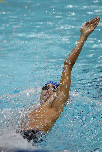 Ryosuke Irie, SEPTEMBER 4, 2011 - Swimming : 87th Inter College Swimming Championship Men's 100m Backstroke at Yokohama international pool, Kanagawa. Japan. (Photo by YUTAKA/AFLO SPORT) [1040]