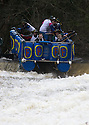 26/12/15<br /> <br /> G'day !<br /> <br /> Dozens of competitors are tossed into the Derwent as the extremely swollen river launches rafts, uncontrollably, down a weir along the route of the Boxing Day Race at Matlock Bath in Derbyshire.<br /> <br /> <br /> All Rights Reserved: F Stop Press Ltd. +44(0)1335 418365   www.fstoppress.com.