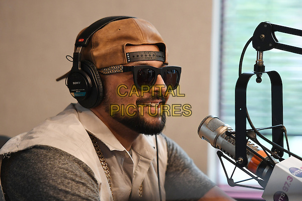 HOLLYWOOD, FL - JANUARY 27: Sean Paul visits radio station Hits 97.3 Live on January 27, 2017 in Hollywood, Florida. <br /> CAP/MPI04<br /> &copy;MPI04/Capital Pictures