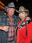 John and Aileen McKenna pictured at the barn dance in aid of Ballapousta National School at Oberstown Farm. Photo:Colin Bell/pressphotos.ie