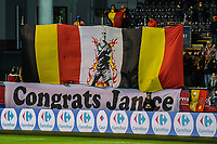 20191112 - LEUVEN , BELGIUM : llustration picture during the female soccer game between the Belgian Red Flames and Lithuania , the fourth womensoccer game for Belgium in the qualification for the European Championship round in group H for England 2021, Tuesday 12 th November 2019 at the King Power Stadion Den Dreef in Leuven , Belgium. PHOTO SPORTPIX.BE | STIJN AUDOOREN