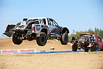 Fans of American short course off-road racing witness fast and furious racing during Traxxas TORC Series, presented by AMSOIL's Crandon International Off-Road Raceway.