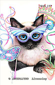 Marie, REALISTIC ANIMALS, REALISTISCHE TIERE, ANIMALES REALISTICOS, paintings+++++,USJO107,#A# ,Joan Marie cat