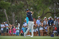 Adam Scott (AUS) watches his tee shot on 12 during round 3 of The Players Championship, TPC Sawgrass, at Ponte Vedra, Florida, USA. 5/12/2018.<br /> Picture: Golffile | Ken Murray<br /> <br /> <br /> All photo usage must carry mandatory copyright credit (&copy; Golffile | Ken Murray)