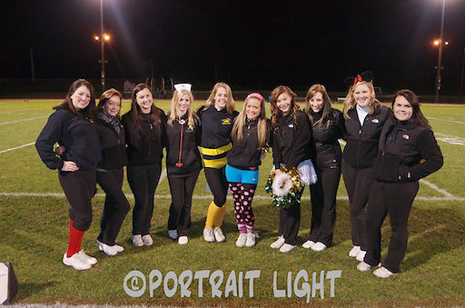 CHS seniors (from left) Julie Schmidt, Jaqueline Gnoza, Emily Burke, Amber Gagne, Alyssa Beary, Eden Nugent, Shelby Gauthier, Gabrielle Freel, Amanda DiLorenzo and Michaela Dion.