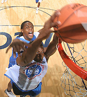 PF Frank Ben-Eze (Arlington, VA / Bishop OíConnell) shoots the ball during the NBA Top 100 Camp held Saturday June 23, 2007 at the John Paul Jones arena in Charlottesville, Va. (Photo/Andrew Shurtleff)